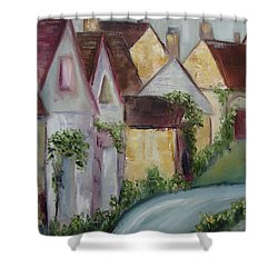Bourton On The Water Shower Curtain by Roxy Rich