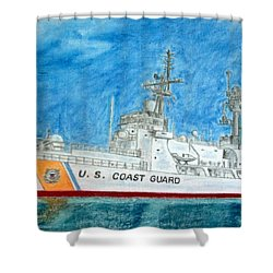 Boutwell-u.s.coast Guard 719 Shower Curtain