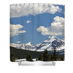 Bow Lake Shower Curtain