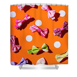 Shower Curtain featuring the photograph Bow Tie Party by Jorgo Photography - Wall Art Gallery