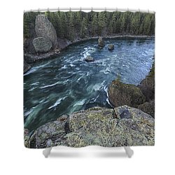 Bowl And Pitcher Shower Curtain