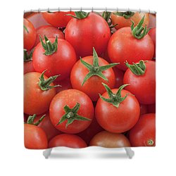 Shower Curtain featuring the photograph Bowl Of Cherry Tomatoes by James BO Insogna