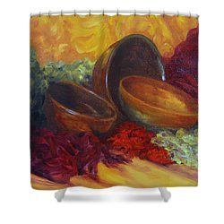 Bowlies Shower Curtain