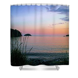 Bowman Bay Shower Curtain
