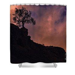 Box Canyon Sunset Shower Curtain