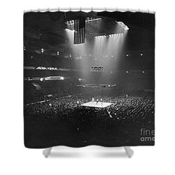 Boxing Match, 1941 Shower Curtain