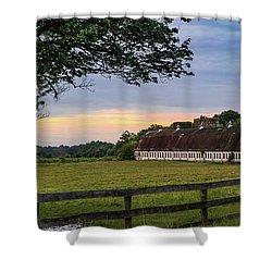 Boxwood Farm Shower Curtain