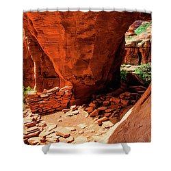 Boynton Canyon 04-647 Shower Curtain by Scott McAllister
