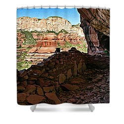 Boynton Canyon 05-1019 Shower Curtain by Scott McAllister