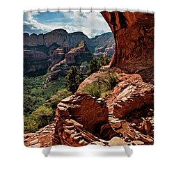 Boynton Canyon 08-160 Shower Curtain
