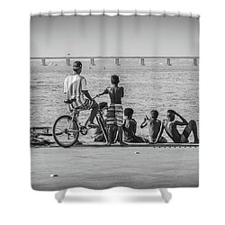 Boys From Brazil Shower Curtain