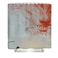 B.p.r.d. Shower Curtain