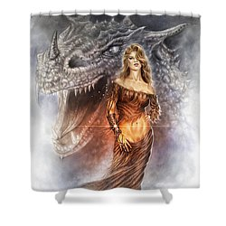 Bracelet Of Power Shower Curtain