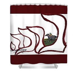 Bracha Nf1-135 Shower Curtain