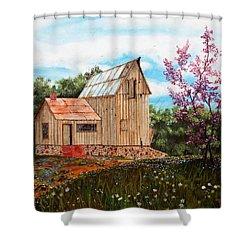 Bradford's Barn Shower Curtain