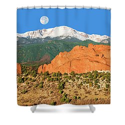 Brahma, The Hindu Creator God Shower Curtain