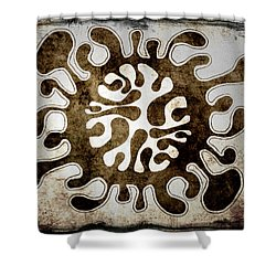 Brain Illustration Shower Curtain