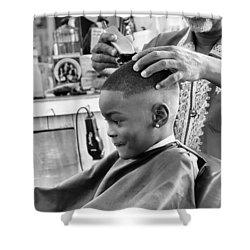 Brian's Haircut Shower Curtain