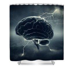Brainstorm Shower Curtain