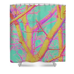 Branching Out 2 Shower Curtain