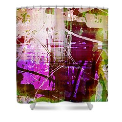 Branching Out Shower Curtain by Shawna Rowe