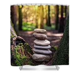Shower Curtain featuring the photograph Brand New Day by Marco Oliveira
