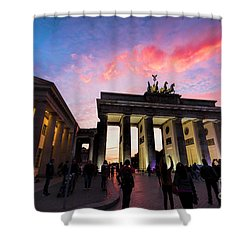 Branderburg Gate Shower Curtain by Pravine Chester