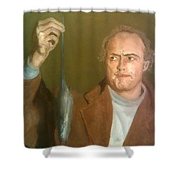 Brando And The Rat Shower Curtain