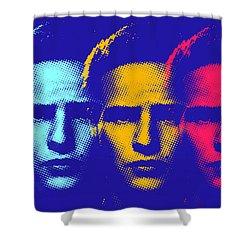 Brando Triple  Shower Curtain by Surj LA