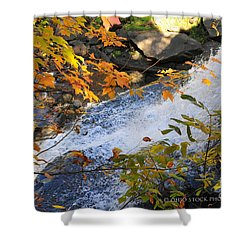D30a-18 Brandywine Falls Photo Shower Curtain