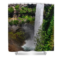 Shower Curtain featuring the photograph Brandywine Falls by Myrna Bradshaw