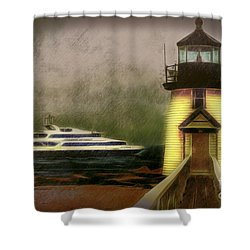 Brant Light II Shower Curtain by Jack Torcello