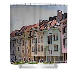 Bratislava Shower Curtain