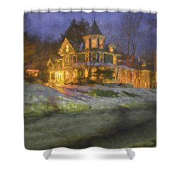 Brattleboro Victorian II Shower Curtain by Tom Singleton