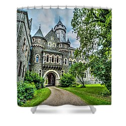 Shower Curtain featuring the photograph Braunfels Castle by David Morefield