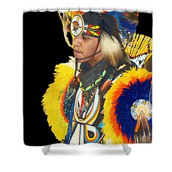 Brave 3 Shower Curtain