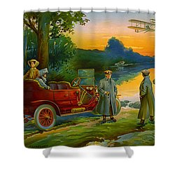 Brave New World 1910 Shower Curtain by Padre Art