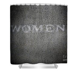 Brave One Shower Curtain