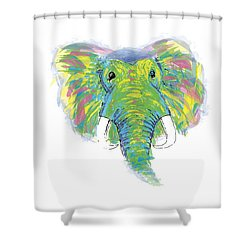 Brave Soul Shower Curtain