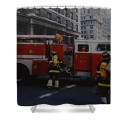 Bravest Of The Brave Shower Curtain by Rob Hans
