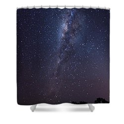 Shower Curtain featuring the photograph Brazil By Starlight by Alex Lapidus