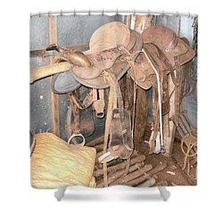 Shower Curtain featuring the photograph Brazilian Cowboy Clothes by Beto Machado