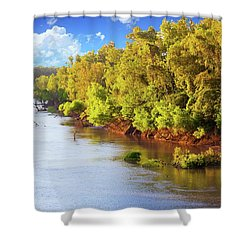 Brazos River Shower Curtain