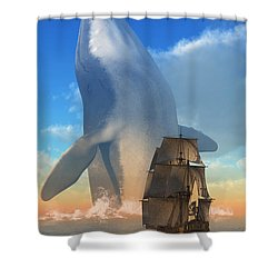 Breach Shower Curtain