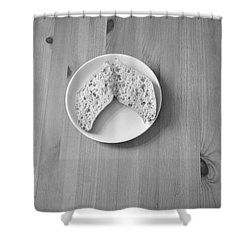 Bread Wings Shower Curtain