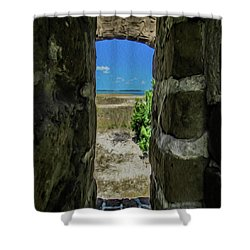 Break Free Of Your Walls Shower Curtain