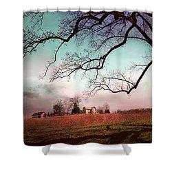 Break Of Dawn Shower Curtain by John Rivera