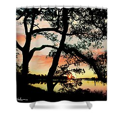 Break Of Dawn Shower Curtain