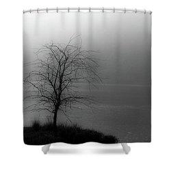 Break Through Shower Curtain