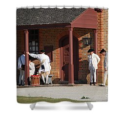 Break Time Shower Curtain by Eric Liller